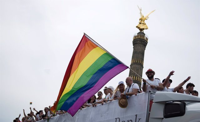 Fiesta del orgullo gay en Berlín LGTBI