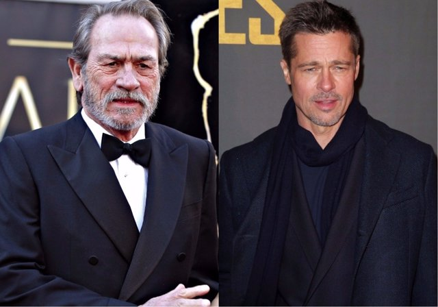 Tommy Lee Jones/Brad Pitt
