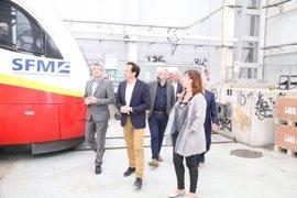 Se adjudica la electrificación del tramo Enllaç-Sa Pobla por 9,95 millones de euros