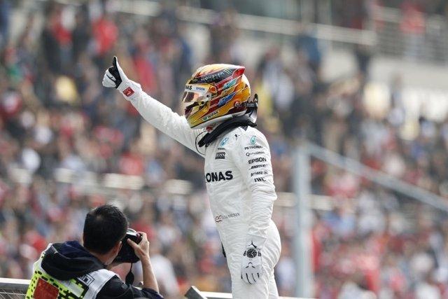 Lewis Hamilton Mercedes China