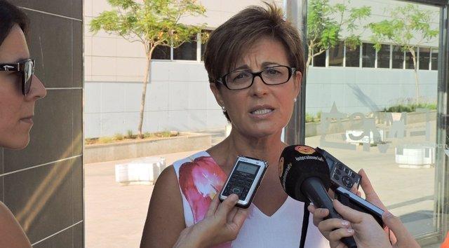 La concejala socialista Adriana Valverde