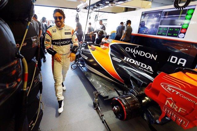 Fernando Alonso Gran Premio Azerbaiyán