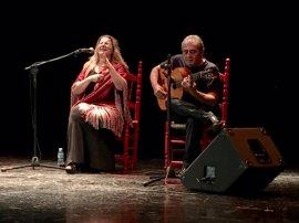 La sevillana Anabel Rodríguez gana el concurso nacional de cante flamenco 'Espárrago Verde de Oro' en Granada