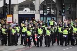 La Policía británica se prepara para posibles enfrentamientos entre grupos de extrema derecha y antifascistas