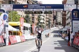 Isaac Cantón se proclama campeón de España Sub-23 de ciclismo en ruta