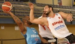 España consigue su tercera victoria en el Europeo en silla de ruedas