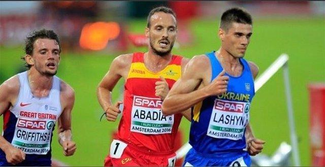 Toni Abadía, atleta español