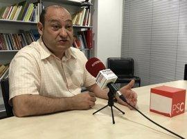 """Carles Ruiz no ve prioritario revisar las relaciones PSC-PSOE: """"Estamos cómodos"""""""