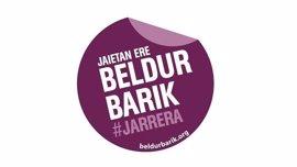 Diputación de Bizkaia apoya la campaña del programa 'Beldur Barik' contra agresiones sexistas