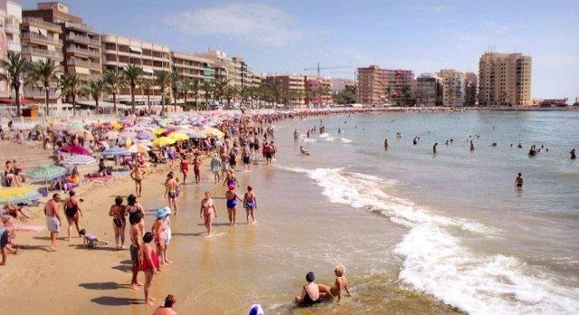 Imagen de archivo de la Playa del Cura