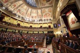 Los Reyes presiden el miércoles en el Congreso el homenaje a los parlamentarios de la Constitución de 1978