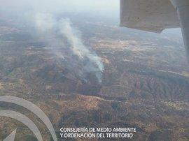 Estabilizados los incendios de Alanís y Guadalcanal (Sevilla)