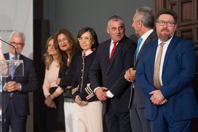 Toma de posesión de nuevos consejeros del Gobierno andaluz