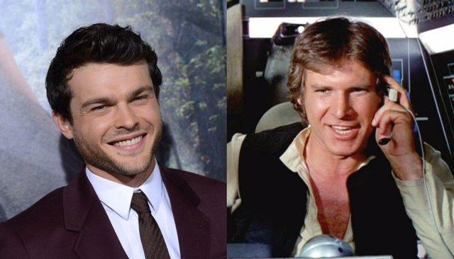 Alden Henreich es el nuevo Han Solo