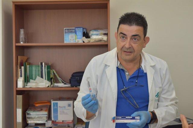 Inicio de la campaña de vacunación de la Junta en Málaga