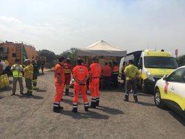Realojadas hasta 750 personas evacuadas por el incendio forestal de Moguer