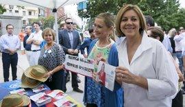 """Cospedal reivindica la gestión de Cifuentes en Madrid como ejemplo de """"los valores del PP"""" tras dos años en la Comunidad"""