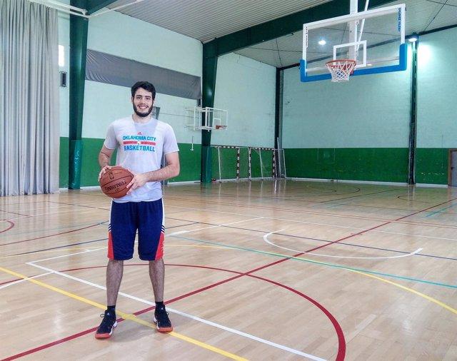 Álex Abrines después de un entrenamiento en Palma de Mallorca