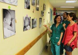 Hospital Virgen de la Salud de Toledo acoge una muestra de fotos sobre neonatos realizadas por una pediatra del centro