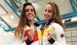 Ona Carbonell Paula Ramírez natación sincronizada Estados Unidos
