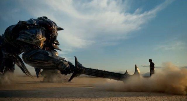 Transformers el último caballero, the last knight