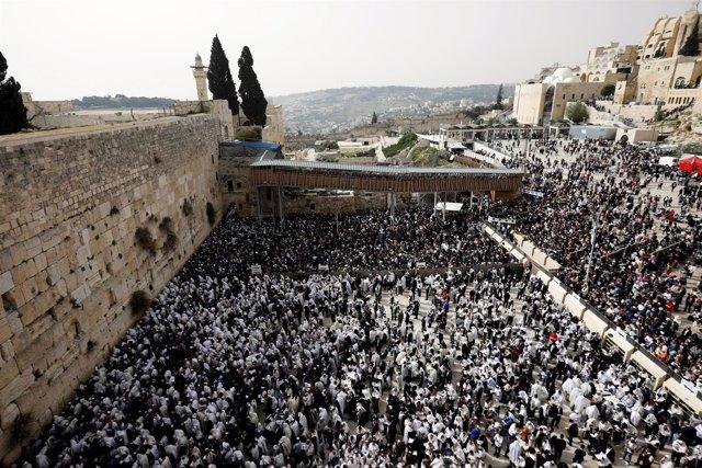 Muro de las Lamentaciones de Jerusalén
