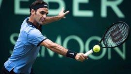 Federer amplía su reinado en Halle con su noveno título