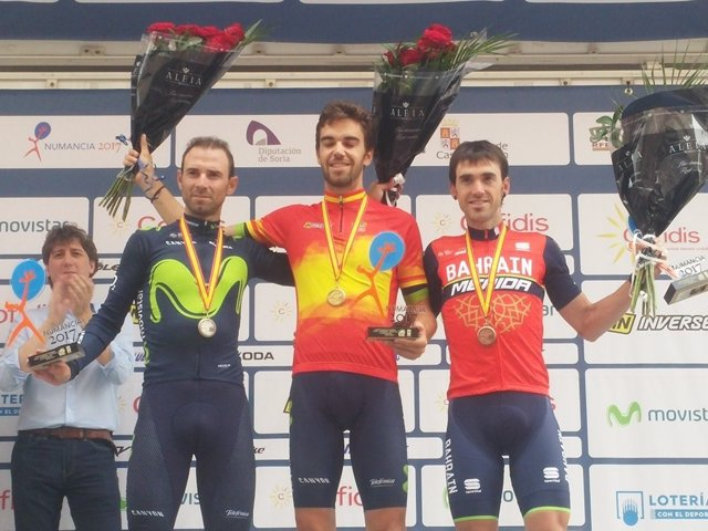 Jesús Herrada Alejandro Valverde Ion Izagirre Campeonato España ruta