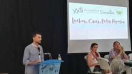 """Maíllo aboga por la construcción de un """"bloque a la izquierda"""" en Andalucía para dar """"esperanza a miles de trabajadores"""""""