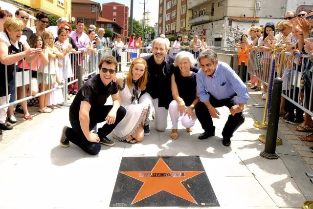 Marta Hazas descubre su estrella de la fama en Tetuán