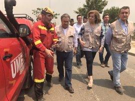 """Medidas especiales para que la incidencia del incendio en el Espacio de Doñana sea """"la menor posible"""""""