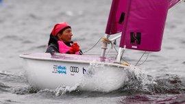 Violeta del Reino logra el oro en la clase Hansa 303 en el campeonato del mundo de vela paralímpica de Kiel