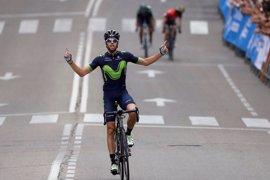 """Herrada: """"Valverde ha controlado y yo sólo he tenido que disfrutar de la victoria"""""""