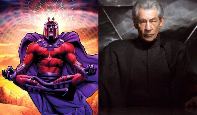 Ian McKellen como Magneto en 'X-Men'