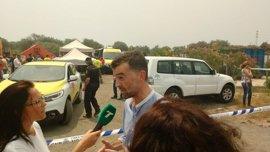 """IU lamenta la falta de un plan de evacuación en Mazagón para """"una salida segura"""" tras el incendio"""