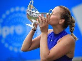 Kvitova se lleva su primer título de la temporada en Birmingham