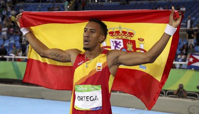 El atleta Orlando Ortega