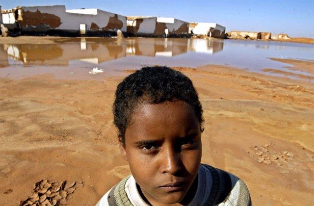 Inundaciones Sáhara