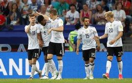 Alemania aprovecha el tropiezo de Chile y evita a Portugal en semifinales
