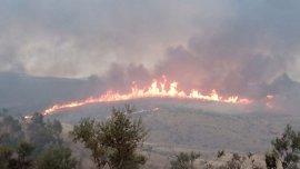 Desactivado el nivel 1 de peligrosidad en el incendio de Calzadilla (Cáceres), que ya está controlado