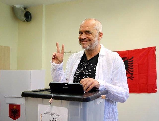 Primer ministro de Albania, Edi Rama
