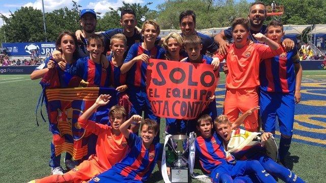 El Barça se lleva el III Torneo Internacional LaLiga Promises