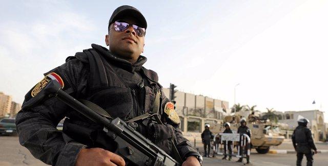 Policía de Egipto