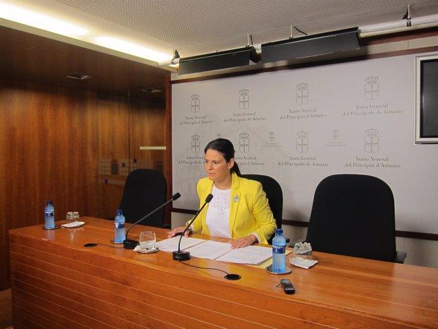 La diputada autonómica de Ciudadanos, Diana Sánchez.