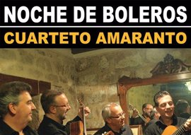 El cuarteto Amaranto ofrecerá este miércoles una 'Noche de boleros' en la terraza del Teatro López de Ayala de Badajoz