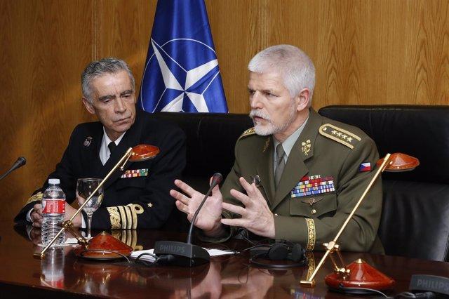 El general Petr Pavel, en una imagen de archivo en Madrid