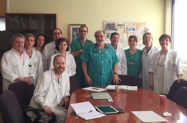 El equipo que forma parte del programa PROA.
