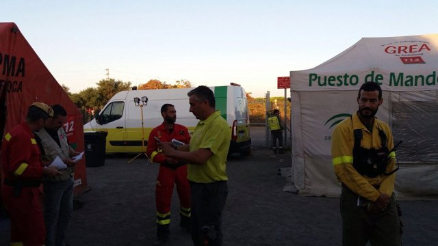 Nota De Prensa Actualización Incendio Forestal Moguer