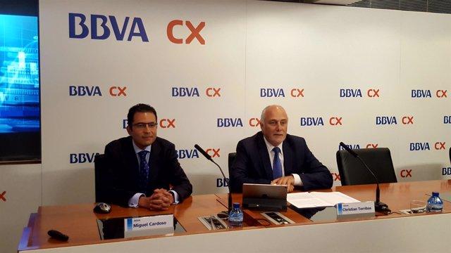 Miguel Cardoso, Christian Terribas (BBVA)