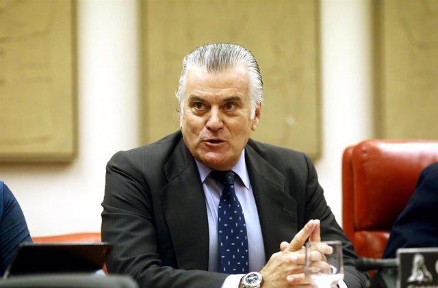 Bárcenas ante la comisión de investigación sobre la supuesta financiación ilegal